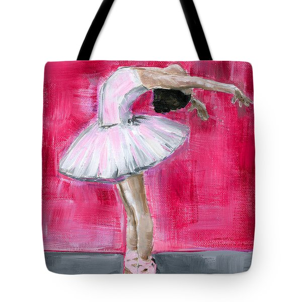 Little Ballerina #2 Tote Bag