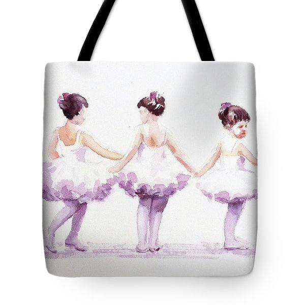 Little Ballerinas-3 Tote Bag