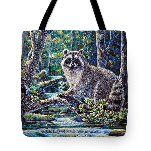 Little Bandit Tote Bag by Gail Butler