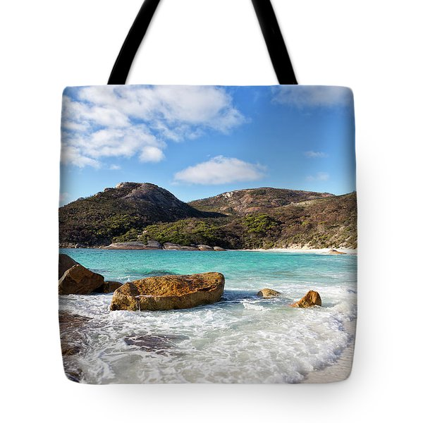 Tote Bag featuring the photograph Little Beach Two Peoples Bay Nature Reserve by Ivy Ho