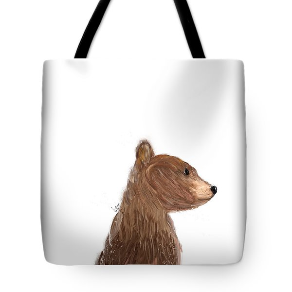 Little Bear Brown Tote Bag