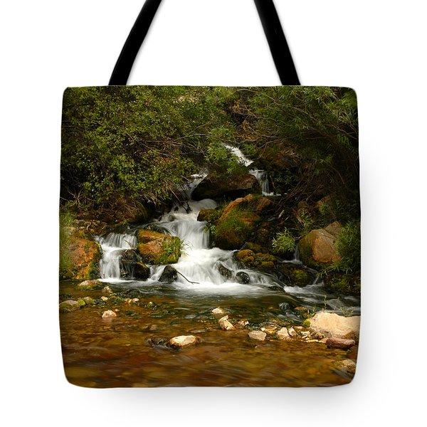 Little Big Creek Tote Bag