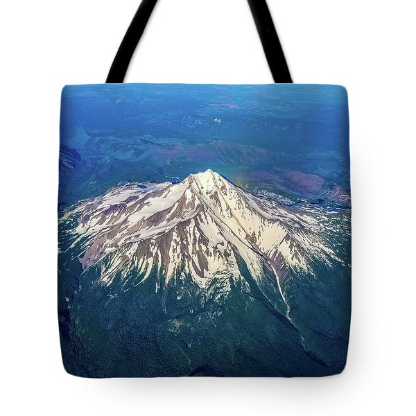 Tote Bag featuring the photograph Little Big Mountain  by Jonny D