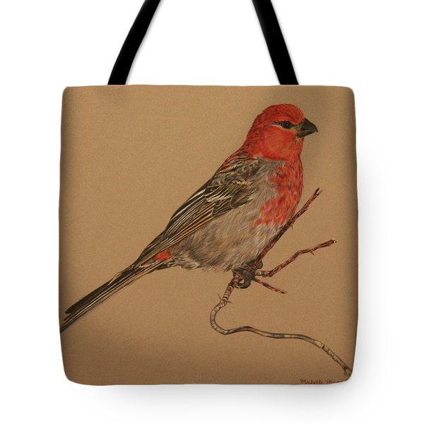 Little Bird Tote Bag by Michelle Miron-Rebbe