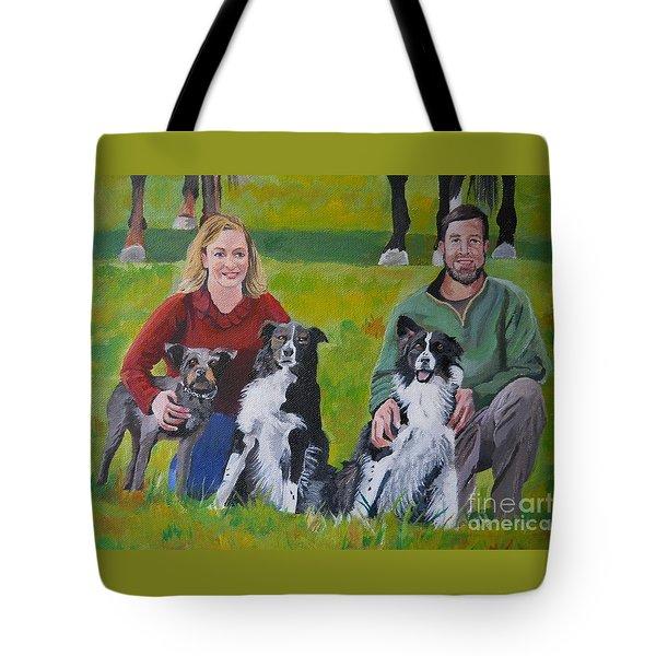 Little Bit's New Family Tote Bag