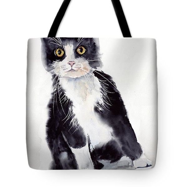 Little Black Scamp Tote Bag