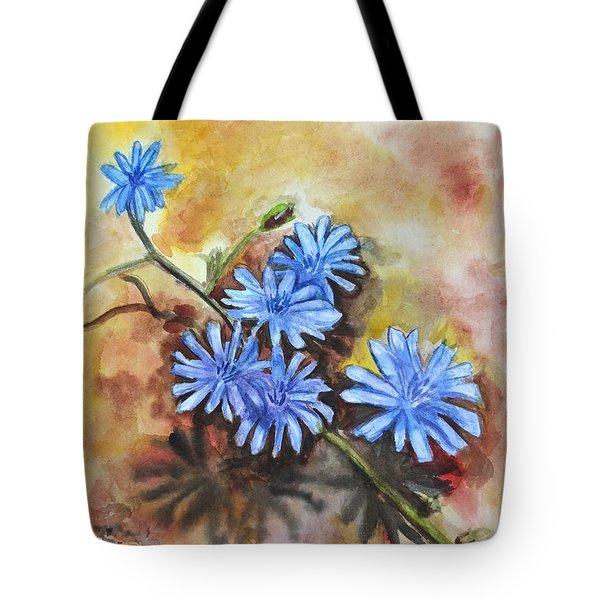 Little Blues Tote Bag by Jana Goode