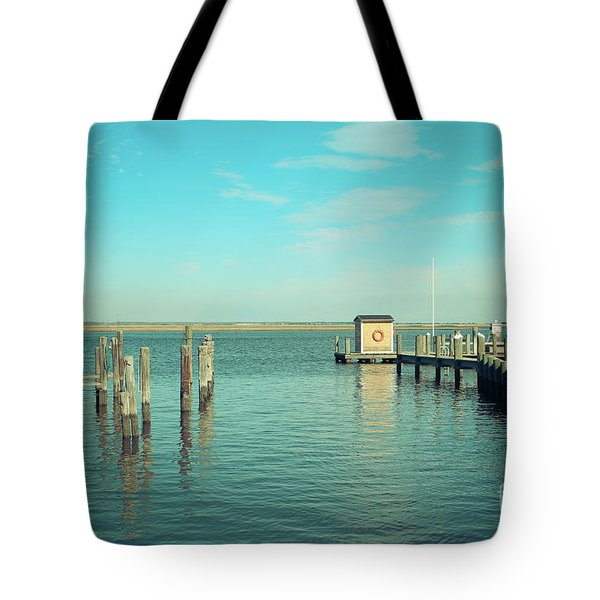 Tote Bag featuring the photograph Little Boat House On The River by Colleen Kammerer