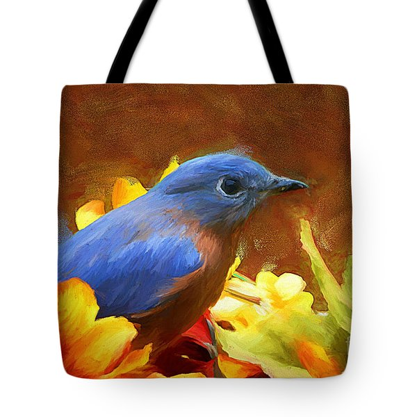 Little Boy Blue Tote Bag