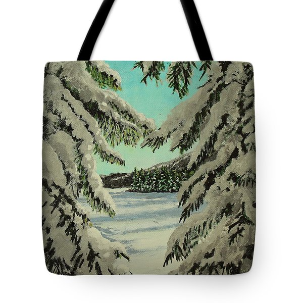 Little Brook Cove Tote Bag