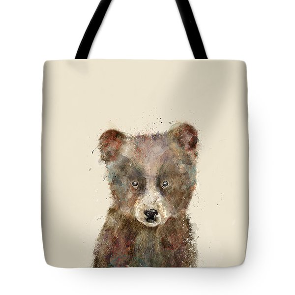 Little Brown Bear Tote Bag