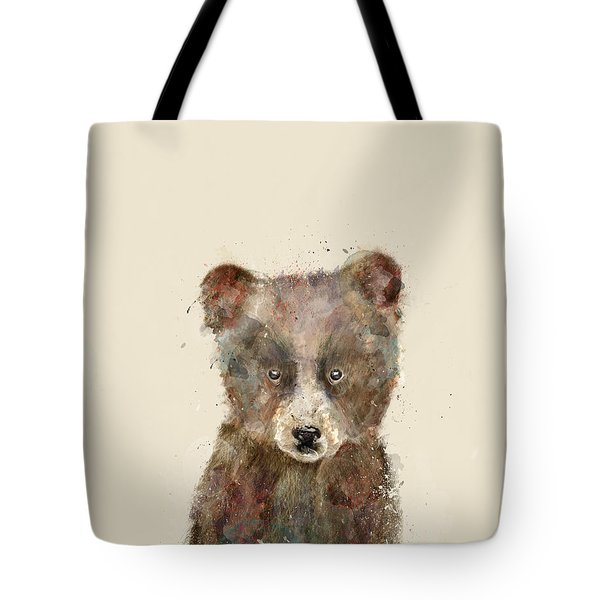 Little Brown Bear Tote Bag