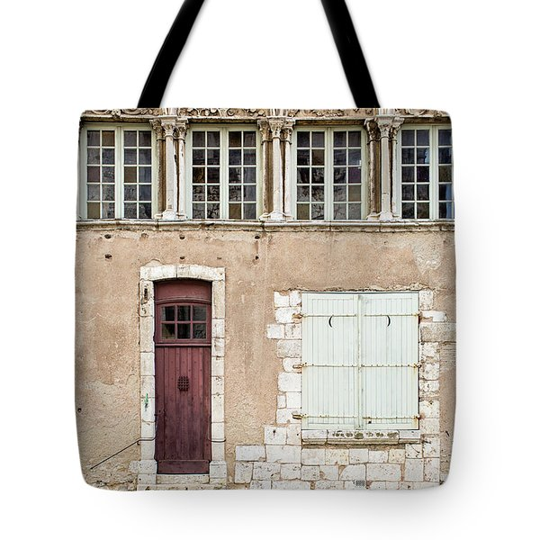 Little Brown Door Tote Bag by Melanie Alexandra Price