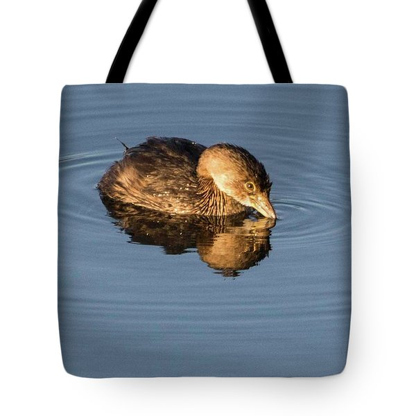 Little Brown Duck Tote Bag