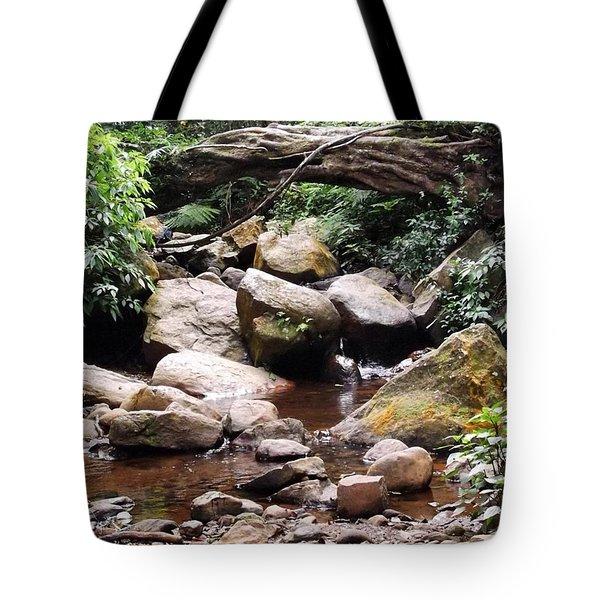 Bubbling Stream Tote Bag