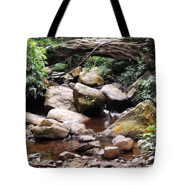 Bubbling Stream Tote Bag