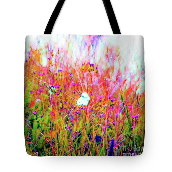 Little Butterfly Fly Tote Bag