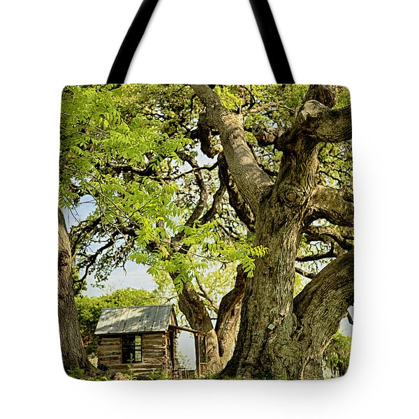 Little Cabin Tote Bag