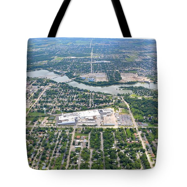 Tote Bag featuring the photograph Little Chute Wrightstown by Bill Lang