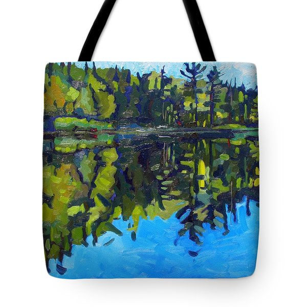 Little Clear Morning Tote Bag