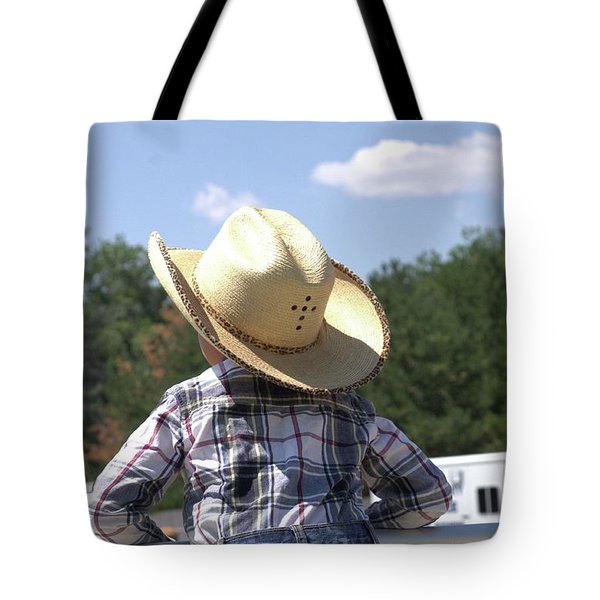 Little Cowboy Tote Bag