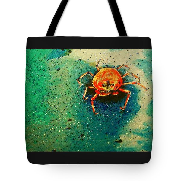 Little Crab Tote Bag by Heather  Gillmer