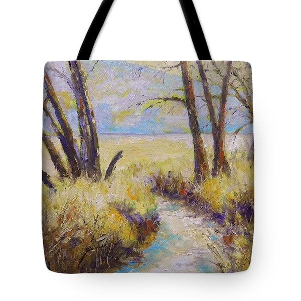 Little Creek Tote Bag