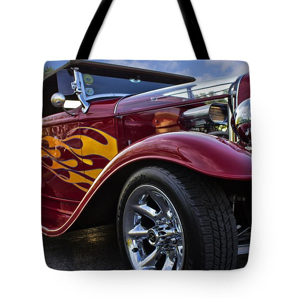 Little Deuce Coupe Tote Bag by Skip Tribby
