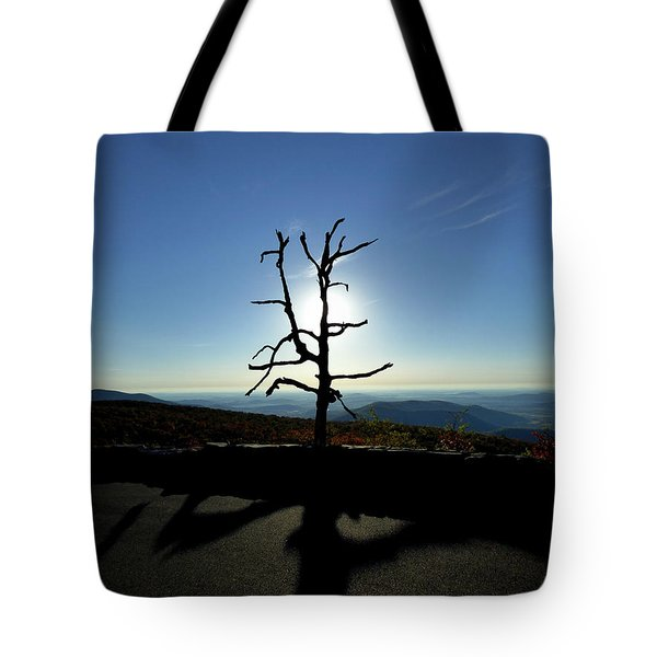 Tote Bag featuring the photograph Little Devil Stairs Overlook by Robert Geary