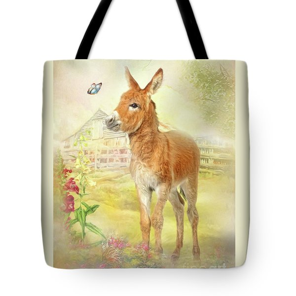 Little Donkey Tote Bag