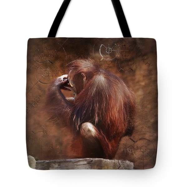 Tote Bag featuring the photograph Little Einstein by Sharon Jones