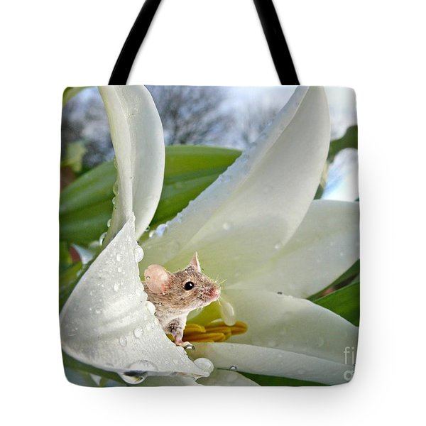 Little Field Mouse Tote Bag