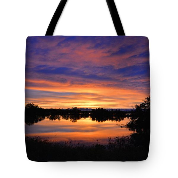 Little Fly Creek Sunset 1 Tote Bag