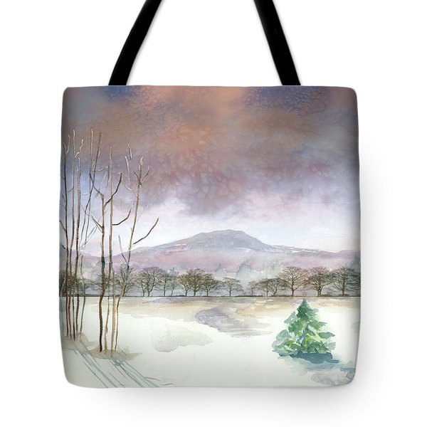 Little Forlorn Pine Tote Bag by Arline Wagner