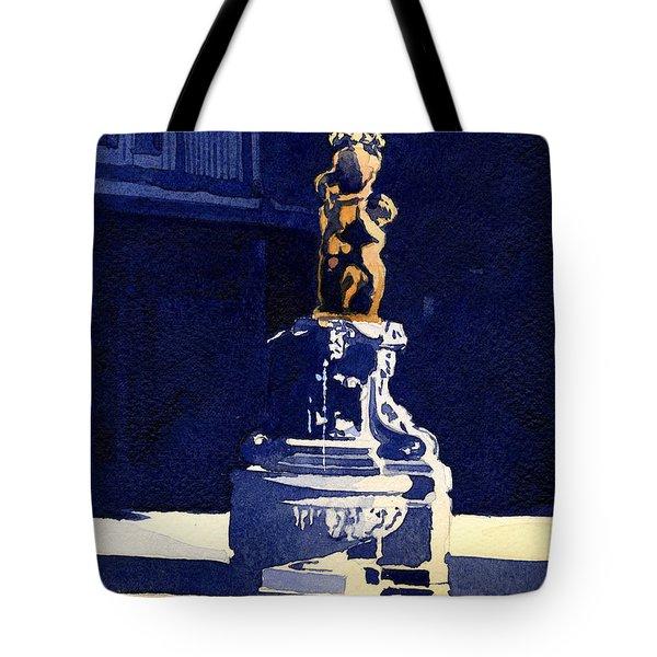 Little Fountain Tote Bag