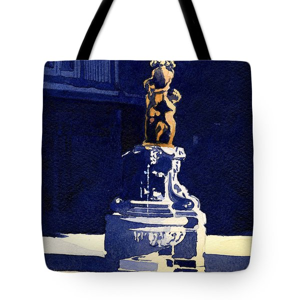 Little Fountain Tote Bag
