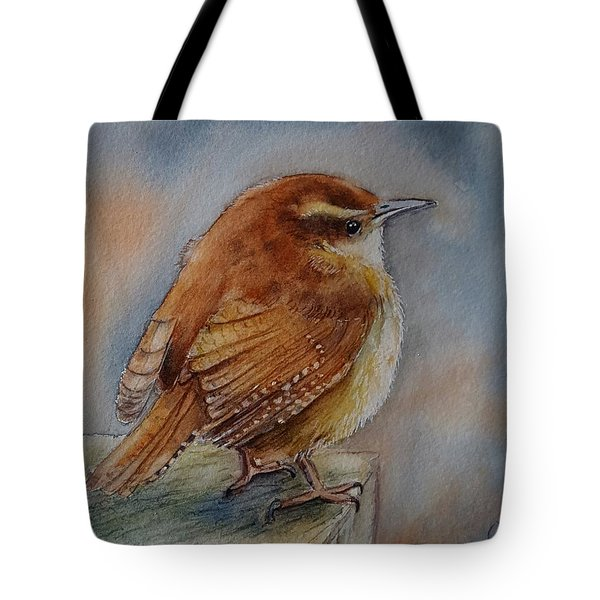 Little Friend Tote Bag by Patricia Pushaw