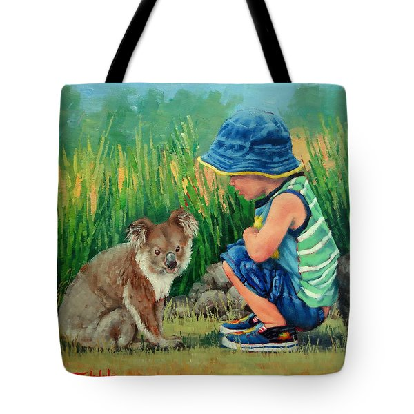 Little Friends Tote Bag by Margaret Stockdale