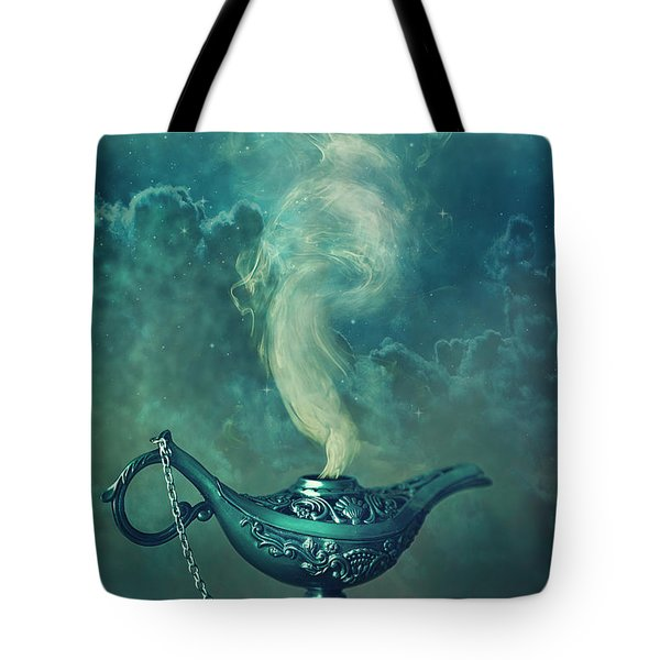 Little Genie Lamp Tote Bag