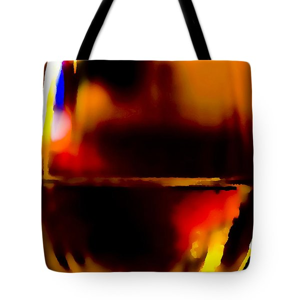 Little Glass Of Wine Tote Bag by Stephen Anderson