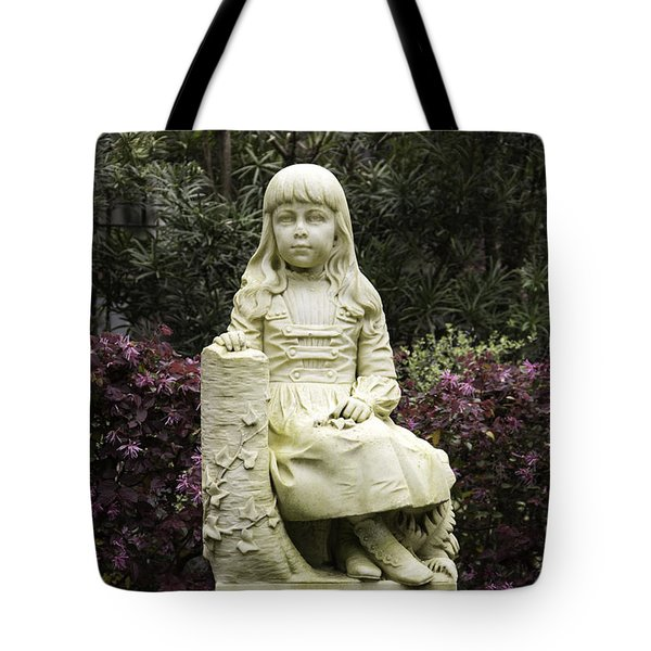 Little Gracie Bonaventure Cemetery Tote Bag