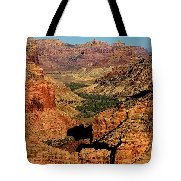 Little Grand Canyon Sunrise Tote Bag