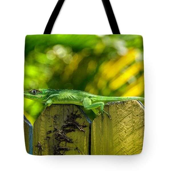 Little Green Visitor Tote Bag