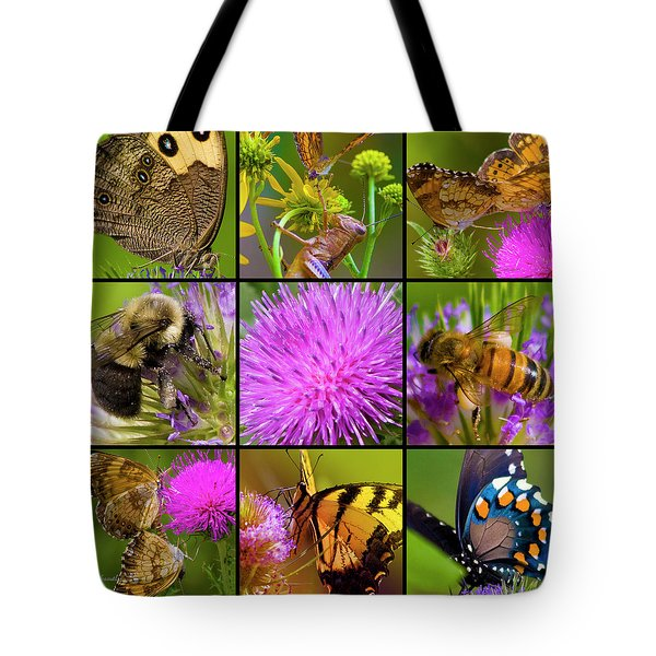 Little Guys  Tote Bag by Betsy Knapp