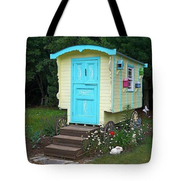 Little Gypsy Wagon II Tote Bag