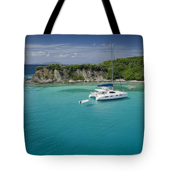 Little Harbor, Peter Island Tote Bag