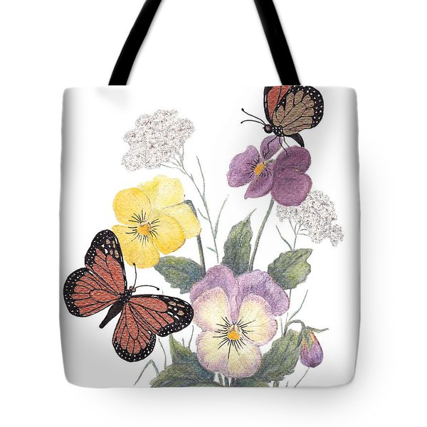 Little Heartsease Tote Bag by Stanza Widen