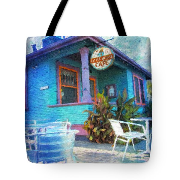 Little House Cafe  Tote Bag