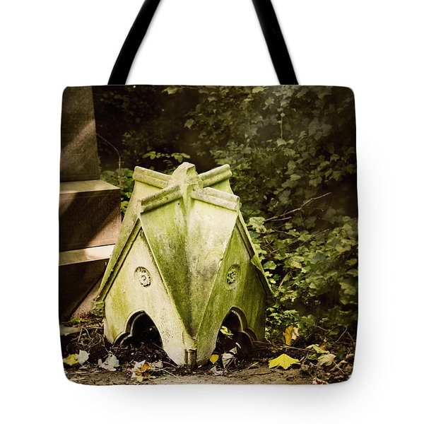 Little House In The Woods Tote Bag by Helga Novelli