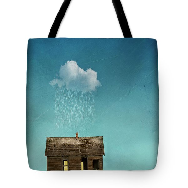 Tote Bag featuring the photograph Little House Of Sorrow by Juli Scalzi